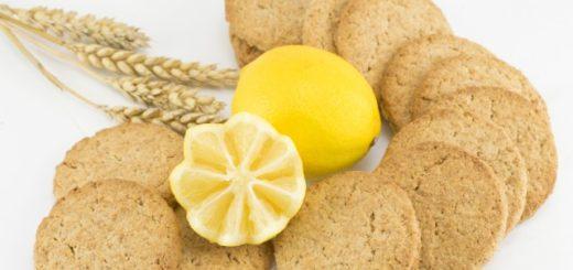 biscotti integrali al limone